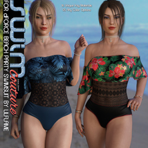 SWIM Couture for dForce Beach Party Swimsuit image 7