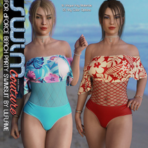 SWIM Couture for dForce Beach Party Swimsuit image 8