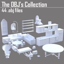 The OBJs Collection - Extended License image 1