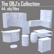 The OBJs Collection - Extended License image 4