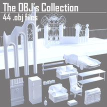 The OBJs Collection - Extended License image 5