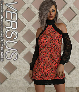 VERSUS - Insouciant dForce dress for G8F 3D Figure Assets Anagord