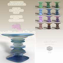 Moonlights Fairy Pedestals for DS and Iray - Extended License image 1