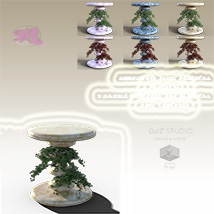 Moonlights Fairy Pedestals for DS and Iray - Extended License image 3