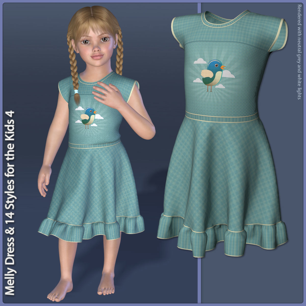 Melly Dress and 14 Styles for the Kids 4