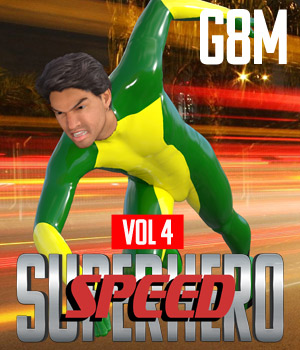 SuperHero Speed for G8M Volume 4 3D Figure Assets GriffinFX