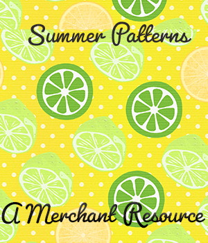 Summer Patterns 2D Graphics Merchant Resources adarling97