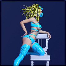 Sexy Chair Poses for G8F image 1