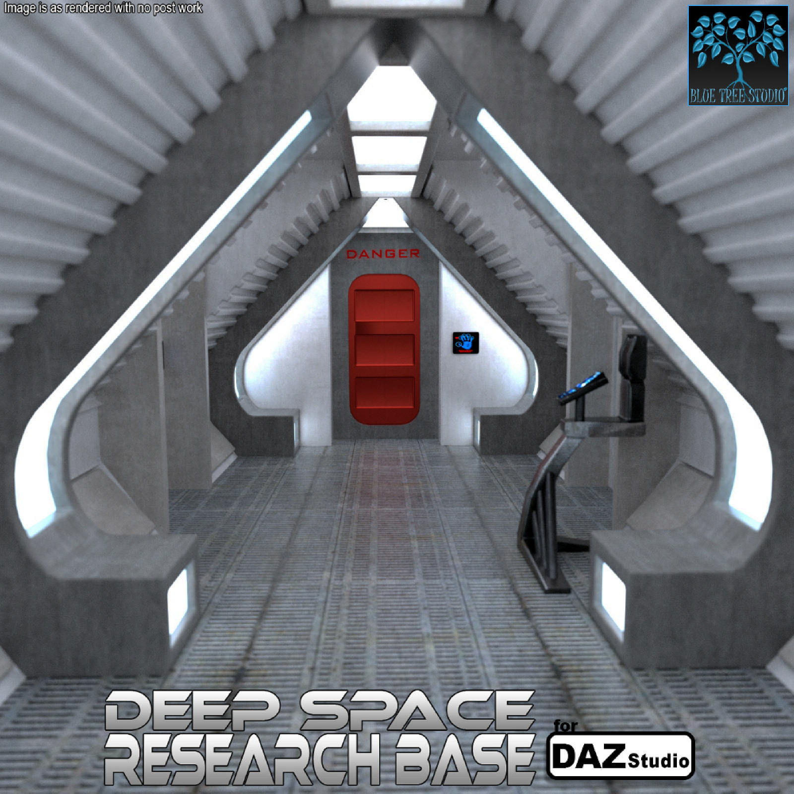 Deep Space Research Base for Daz
