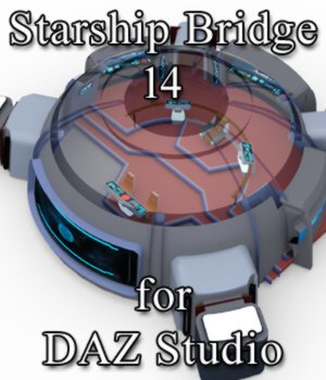 Starship Bridge 14 for DAZ Studio 3D Models VanishingPoint