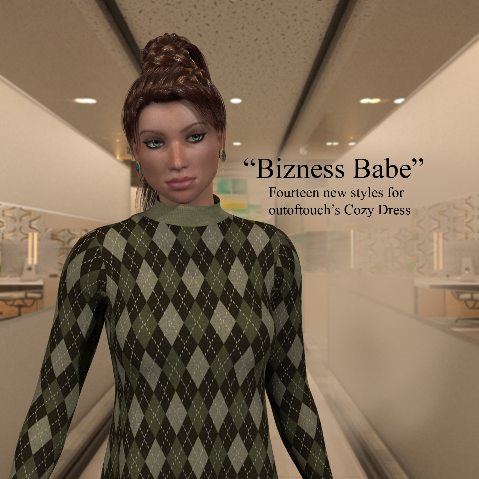 Bizness Babe for OOT's Cozy Dress For LaFemme
