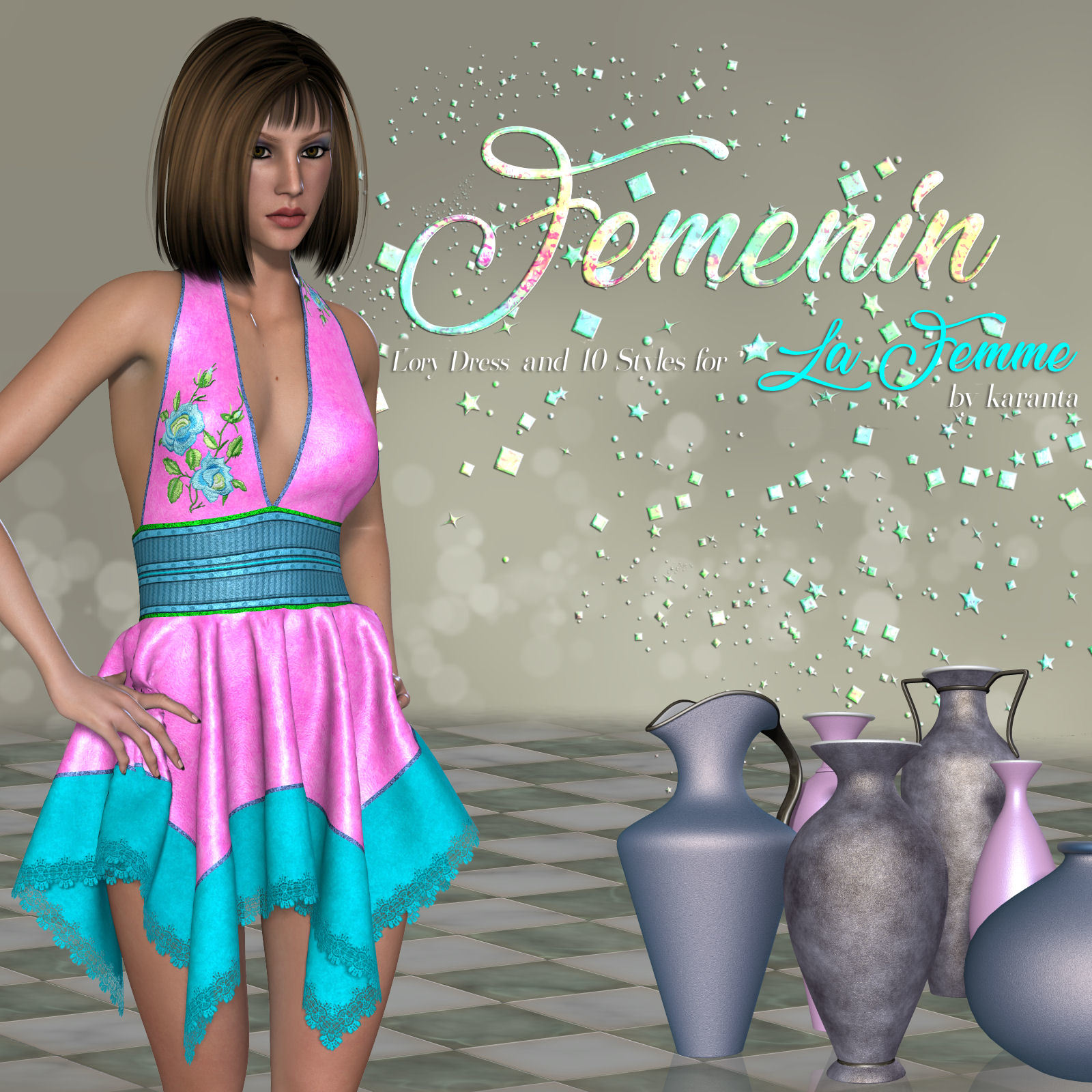 DA-Femenin for Lory Dress  for La Femme