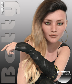 DTG Studios Betty for G8F 3D Figure Assets DTHUREGRIF