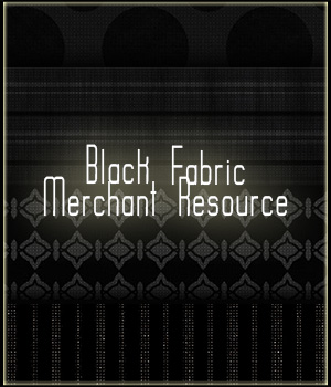 Black Fabric Merchant Resource 2D Graphics Merchant Resources adarling97