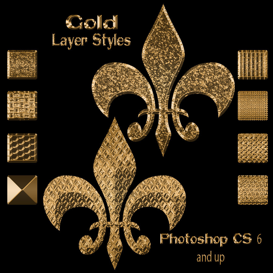 Gold Layer Styles