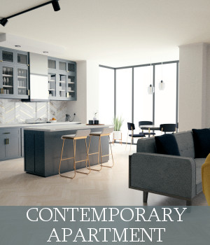 Contemporary Apartment 3D Models TruForm