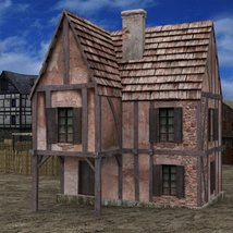 Medieval Village for DAZ Studio image 2