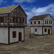Medieval Village for DAZ Studio image 4