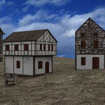 Medieval Village for DAZ Studio image 5