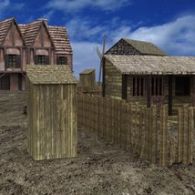 Medieval Village for DAZ Studio image 6