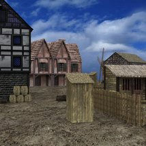 Medieval Village for DAZ Studio image 7