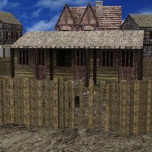 Medieval Village for DAZ Studio image 8