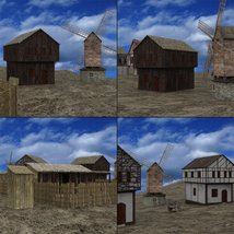 Medieval Village for DAZ Studio image 9