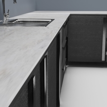 Low Poly Kitchen Grey - Extended License image 7