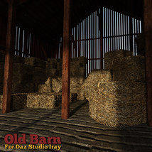 Old Barn for DS Iray image 3