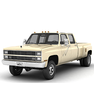 GENERIC 4WD DUALLY PICKUP TRUCK 6 - EXTENDED LICENSE 3D Game Models : OBJ : FBX 3D Models Extended Licenses nnavas