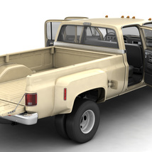 GENERIC 4WD DUALLY PICKUP TRUCK 6 - EXTENDED LICENSE image 3