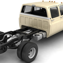 GENERIC 4WD DUALLY PICKUP TRUCK 6 - EXTENDED LICENSE image 12