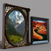 Real Canvas Landscapes Theme for DS Iray image 3