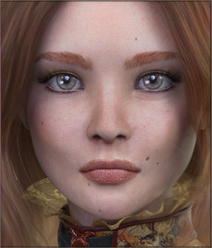 TDT-Rafaela for Genesis 8 Female 3D Figure Assets Deva3D