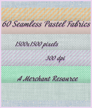 Pastel Fabrics 2D Graphics Merchant Resources adarling97