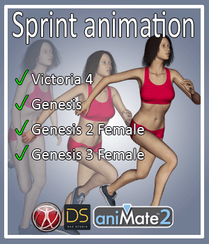 Sprint for V4 G1 G2 G3 3D Figure Assets AnyMatter