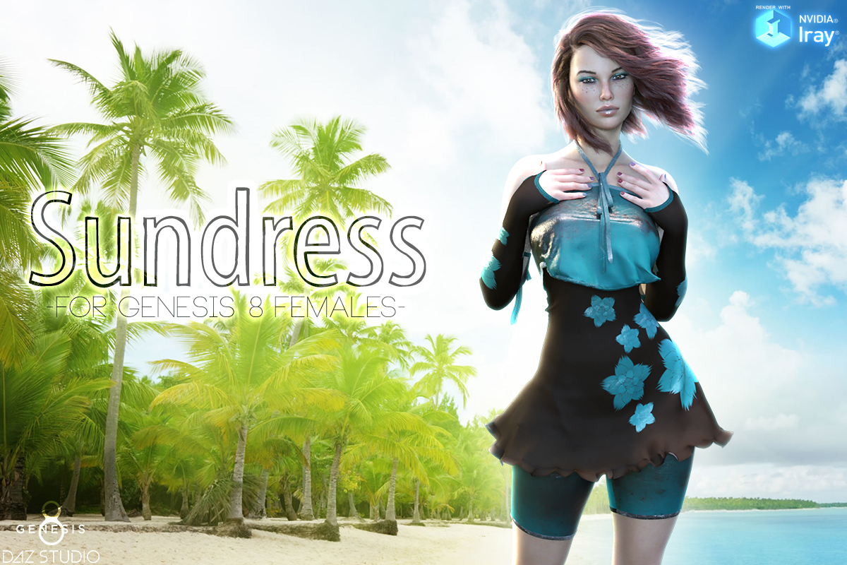 Sundress for Genesis 8 Female by Man7a
