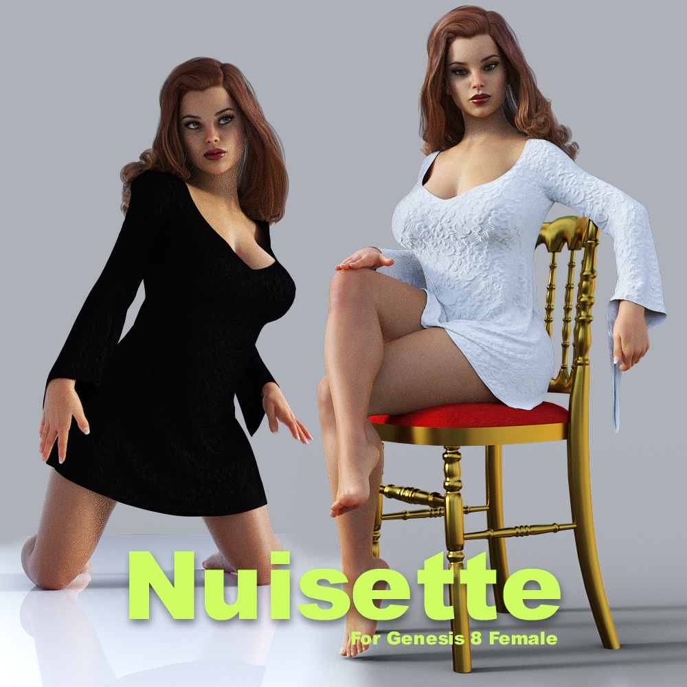 dForce and standard conforming Nuisette for G8F by powerage