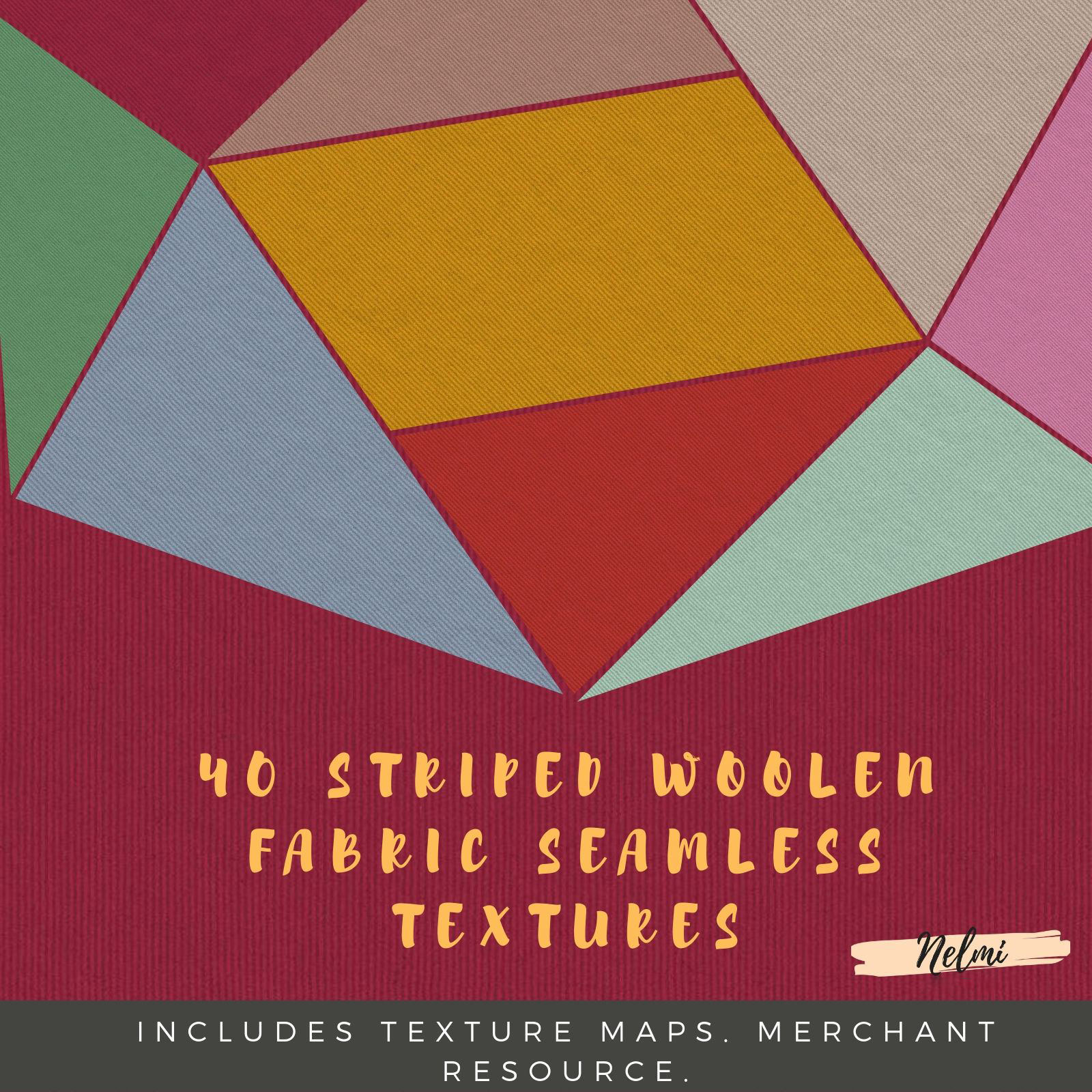 Striped Woolen Seamless Textures - Merchant Resource