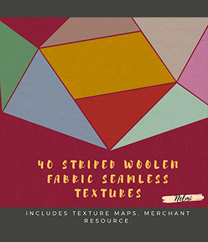 Striped Woolen Seamless Textures - Merchant Resource 2D Graphics Merchant Resources nelmi