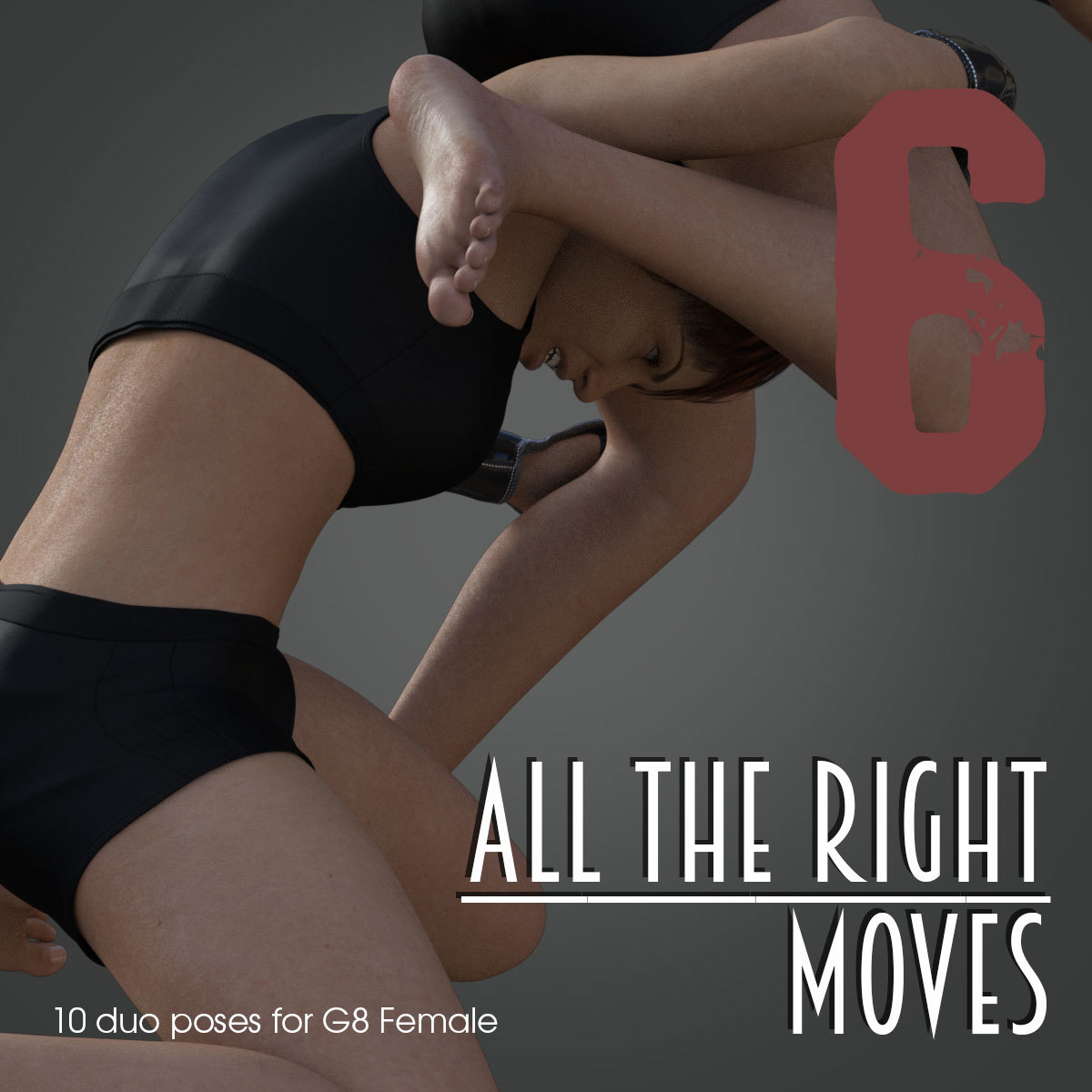 ALL THE RIGHT MOVES vol.6 for Genesis 8 Female by PainMD