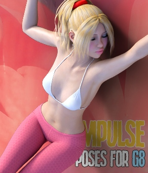 Impulse - poses for Genesis 8 3D Figure Assets hameleon