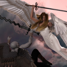 Fantasy Weapon Set One for Genesis 8 image 1