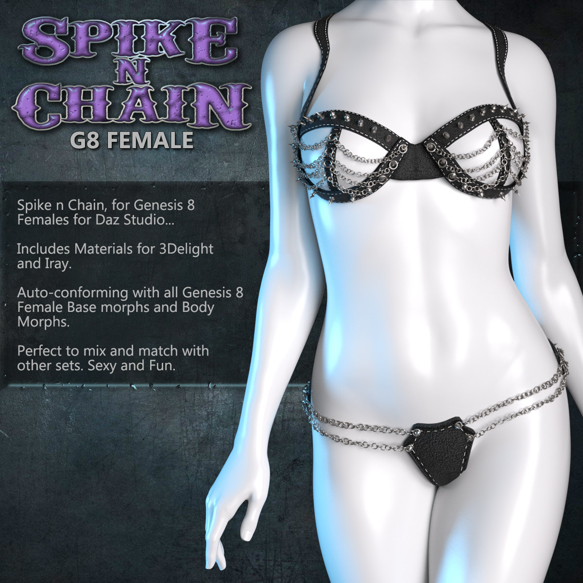 Exnem Spike N Chain for G8 Female by exnem