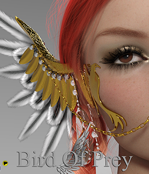 Bird Of Prey  3D Figure Assets Parallax3DArt