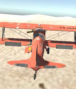 Biplane Aircraft - Extended License 3D Game Models : OBJ : FBX 3D Models Extended Licenses patidarshyam