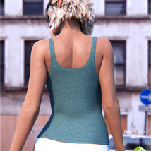 dForce Tank Top for Genesis 8 Female image 2
