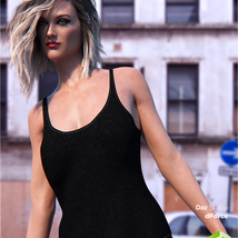 dForce Tank Top for Genesis 8 Female image 4