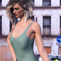 dForce Tank Top for Genesis 8 Female image 8