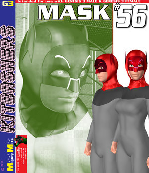 Mask 056 MMKBG3 3D Figure Assets MightyMite